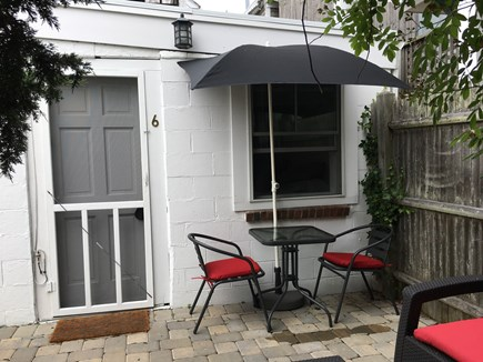 Provincetown Cape Cod vacation rental - Patio dining