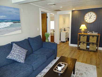 Yarmouth Cape Cod vacation rental - Living room - showing three bedrooms