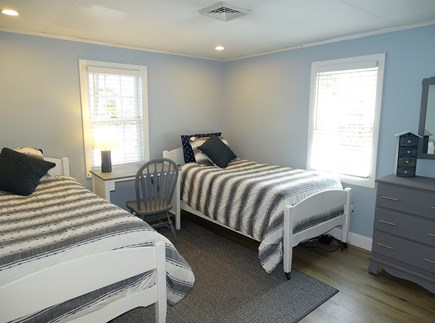 Yarmouth Cape Cod vacation rental - Second bedroom with two twins