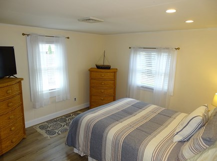 Yarmouth Cape Cod vacation rental - Queen master bedroom with TV