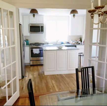 East Orleans/Nauset Beach Cape Cod vacation rental - Kitchen from Dining Room