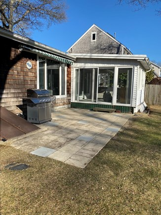 Falmouth Cape Cod vacation rental - Patio with gas grill (table with chairs will be provided)