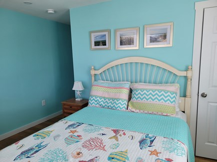West Harwich Cape Cod vacation rental - Queen bedroom with full bath