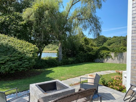 Chatham Cape Cod vacation rental - Peaceful backyard with water views
