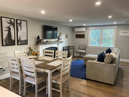 Chatham Cape Cod vacation rental - Open concept living and dining, new mini split AC