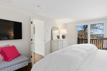 Chatham Cape Cod vacation rental - 2nd floor king bedroom w/ 55inTV and viewing deck - view
