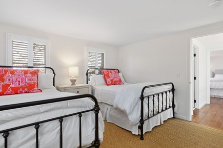 Chatham Cape Cod vacation rental - 2nd floor bedroom with two full/double beds
