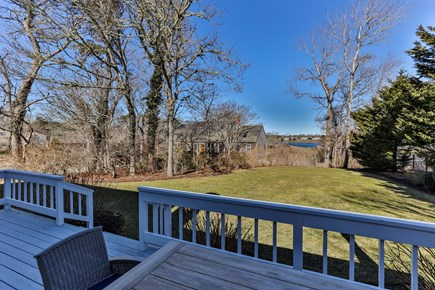 Chatham Cape Cod vacation rental - Views of Oyster Pond from the back deck