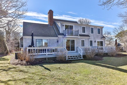 Chatham Cape Cod vacation rental - Backyard view - spacious Cape style home