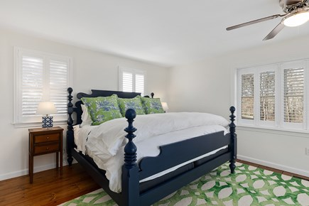 Chatham Cape Cod vacation rental - Main floor master suite with king bed
