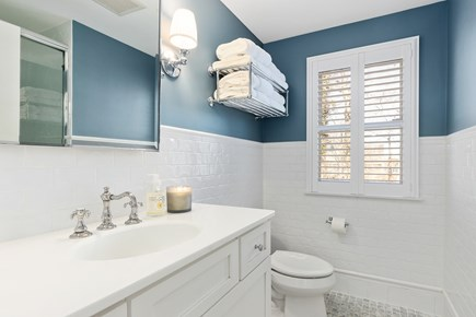 Chatham Cape Cod vacation rental - Main floor master bathroom with stand up shower