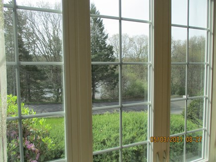 Cotuit Cape Cod vacation rental - View From Dining Room