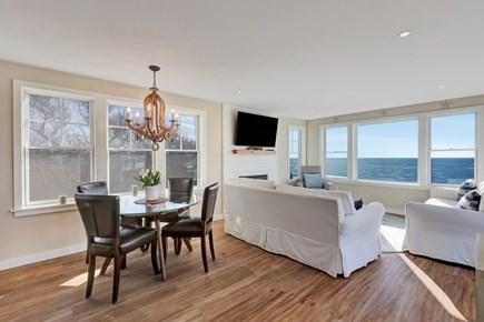 Wellfleet Cape Cod vacation rental - Open concept living room/Dining room
