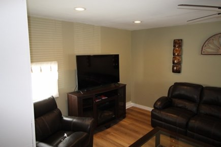 Wellfleet Cape Cod vacation rental - Nice spacious living room with Ceiling fan