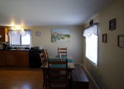 Wellfleet Cape Cod vacation rental - Dining Area will have a ceiling fan with light