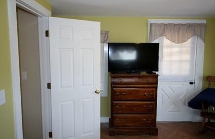 Wellfleet Cape Cod vacation rental - Bedroom #1 with TV