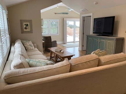 West Hyannis Port Cape Cod vacation rental - Living room