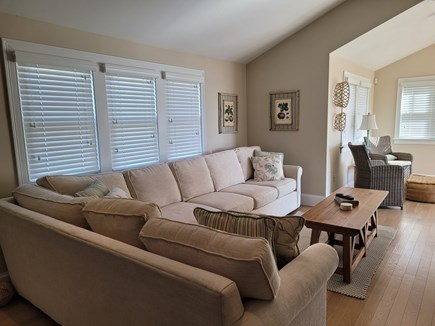 West Hyannis Port Cape Cod vacation rental - Living room with TV