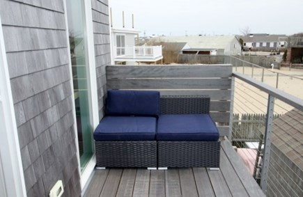 Provincetown Cape Cod vacation rental - Upper-level deck-for 4 people. Star-gazing!!