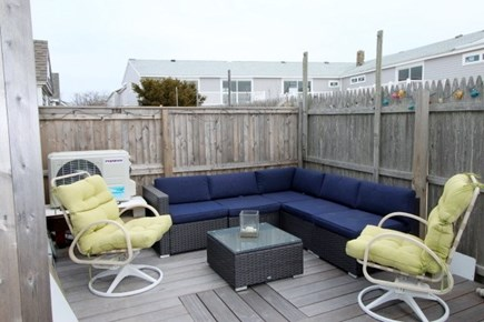 Provincetown Cape Cod vacation rental - Private outdoor living