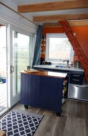 Provincetown Cape Cod vacation rental - Entrance slider in kitchen