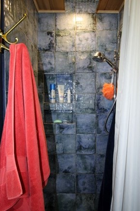 Provincetown Cape Cod vacation rental - Tiled shower