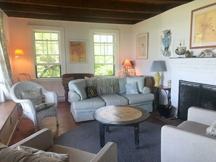 Wellfleet Cape Cod vacation rental - Samoset Beach House - Living Room