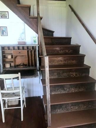 Wellfleet Cape Cod vacation rental - Samoset Beach House - Stairs to Second Floor