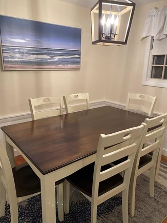 West Yarmouth Cape Cod vacation rental - Brand new dining table with seating for 6