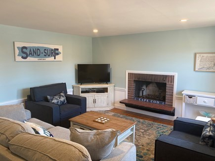 West Yarmouth Cape Cod vacation rental - Living Room is freshly painted with brand new furniture