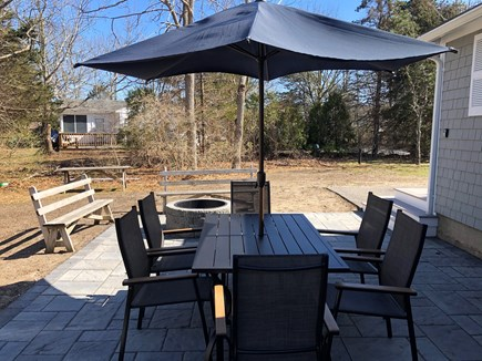 West Yarmouth Cape Cod vacation rental - Brand new outdoor patio and fire pit