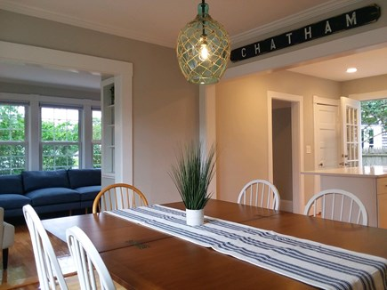 Chatham Cape Cod vacation rental - Dining area looking into kitchen