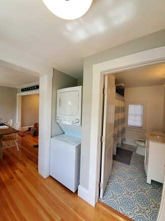 Chatham Cape Cod vacation rental - First Floor full bath and laundry area