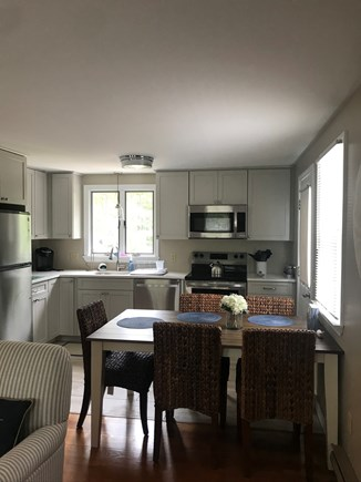 Eastham Cape Cod vacation rental - New kitchen and appliances. Eat in kitchen.