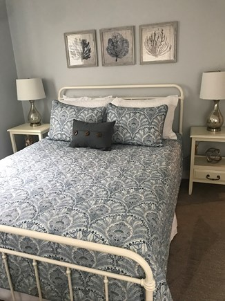 Eastham Cape Cod vacation rental - First floor bedroom #2 with Queen bed and cable/smart TV.