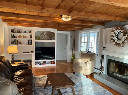 South Yarmouth Cape Cod vacation rental - Fireplace, smart TV (Netflix, Prime, Disney) and wifi