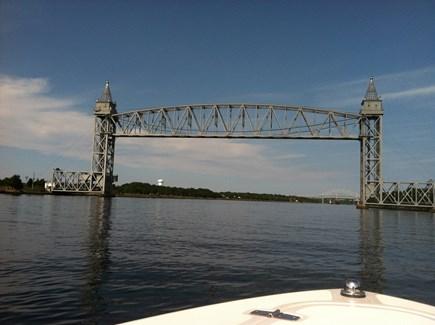Bourne, Gray Gables Cape Cod vacation rental - Bike the Cape Cod Canal Bike Path and visit the Train Bridge!