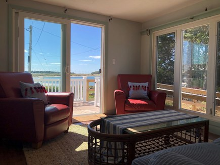 Bourne, Gray Gables Cape Cod vacation rental - Views from the living room!