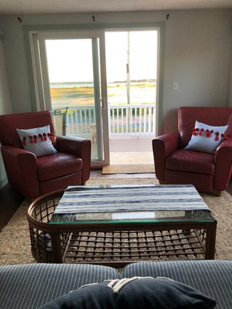 Bourne, Gray Gables Cape Cod vacation rental - Enjoy your view of the beach from your living room or deck!
