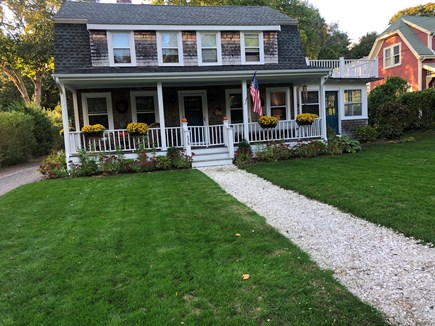 Centerville Cape Cod vacation rental - Front of view of home.  One mile to beach