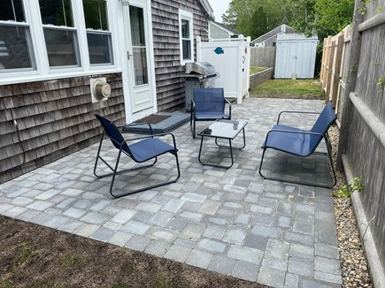 Yarmouth Cape Cod vacation rental - Relax on new patio with gas grill and outdoor shower