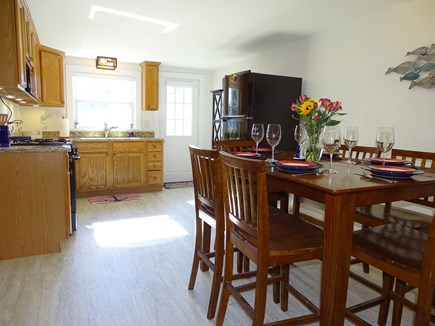 Yarmouth Cape Cod vacation rental - Updated kitchen with new fridge, oven, microwave, toaster