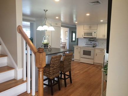 Centerville -Lake Wequaquet Cape Cod vacation rental - Entrance to home with open floor plan to enjoy family gatherings.