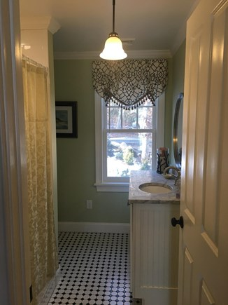 Centerville -Lake Wequaquet Cape Cod vacation rental - New full bath upstairs to accommodate two upstairs bedrooms.