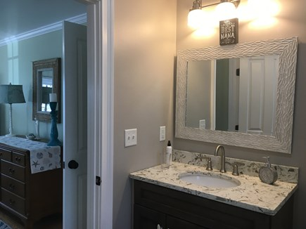 Centerville -Lake Wequaquet Cape Cod vacation rental - Master Suite with full bath on first floor. H/C accessible.