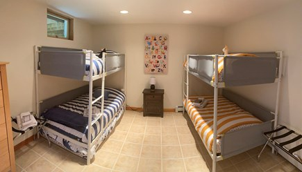 Orleans Cape Cod vacation rental - Bunkbeds in finished basement