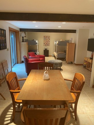 Orleans Cape Cod vacation rental - Finished basement w/ bunkbeds