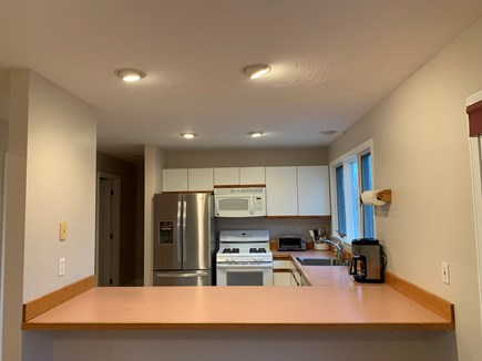 New Silver Beach N. Falmouth Cape Cod vacation rental - Fully equipped kitchen.