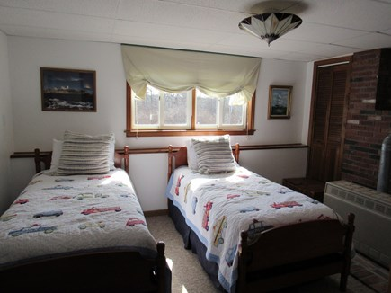 West Dennis Cape Cod vacation rental - Downstairs Twin Bedroom