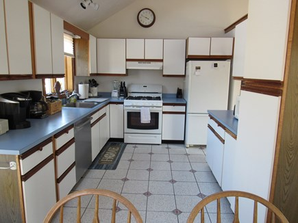 West Dennis Cape Cod vacation rental - Kitchen Cathedral Ceiling and Skylight